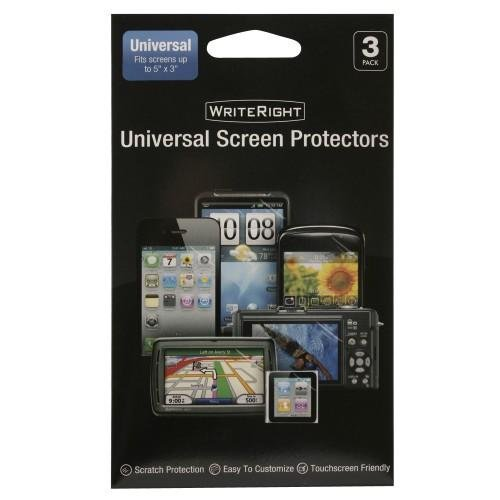 Fellowes Writeright Universal Screen Protectors - 3 Pack