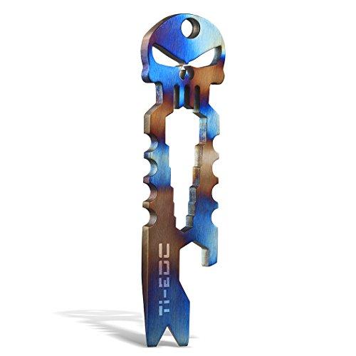 TI EDC Titanium Keychain Spanner Multifunctional product image