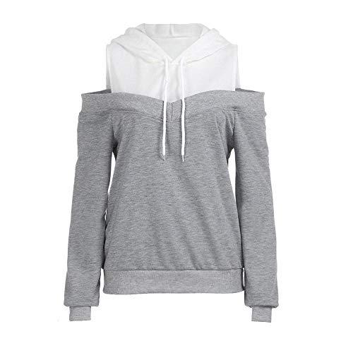 hoodie sweatshirt shoulder long sleeve