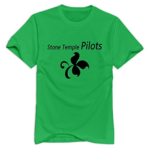 nolysg-stone-temple-pilots-t-shirt-for-men-s-forestgreen-hot-topic-100-cotton-tee-shirt