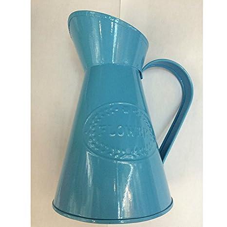 af77e518c2be Chytaii Metal Vase Shabby Chic Vase for Flowers Plants Decorative Jug  Pitcher Vase Vintage France Style Vase Planter Home Decoration