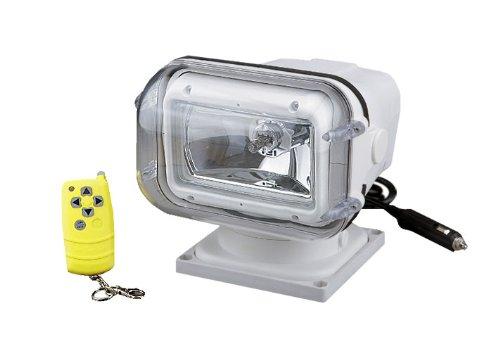 Halogen Spotlight mit Fernbedienung, Plastik, 12V, 55W