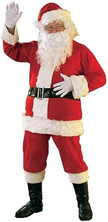 Santa Suit Set Cheap Christmas Santa Claus Halloween Costume Standard Size