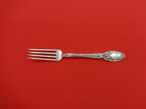 - Brides Bouquet by Alvin Plate Silverplate Luncheon Fork 6 7/8