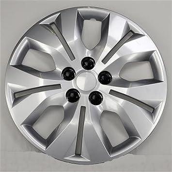 Nuevo fundas para ruedas tapacubos reemplazos para 2012 - 2015 Chevrolet Cruze/2016 Chevrolet Cruze limitada; 16 inch; 5 Split continúa; Color de Plata; ...