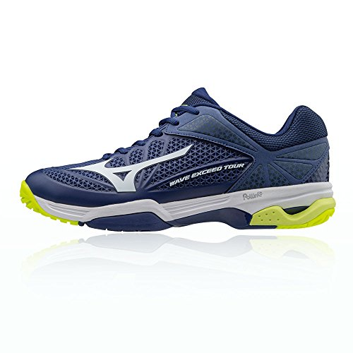 Wave Tennis Blue Chaussure Aw17 All Court Tour Exceed Mizuno 2 De dqw8Bdv