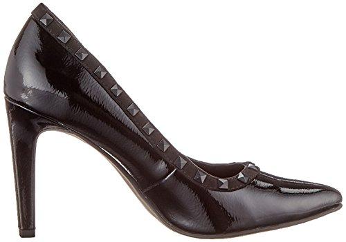 black 22449 2 Tozzi 059 Donna Con 059 2 Tacco comb Scarpe 31 Marco Pat Nero wtqPw