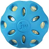 JW Pet Company Crackle Heads Crackle Ball Dog Toy, Large, Colors Vary
