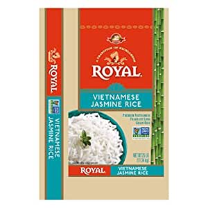 Amazon.com : Royal Vietnamese Jasmine Rice (25 lb.) (pack