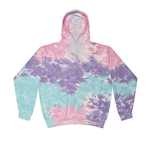 Colortone Tie Dye Hoodie XL Cotton Candy