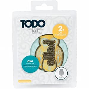 Amazon.com: Tattered Lace Todo Die, Owl with Hello