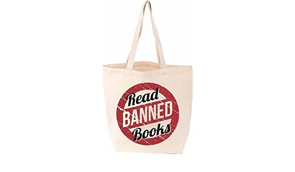 4e28a7d65930 Read Banned Books Tote  9781423641056  Amazon.com  Books