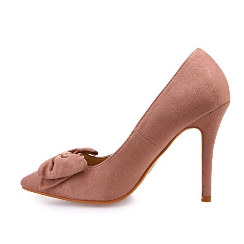 La Vestir Sintético Modeuse De Zapatos Rose 49201 Mujer qrpBwqxZA