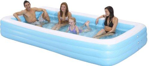 Family Kiddie Pool - Giant Inflatable Rectangular Pool