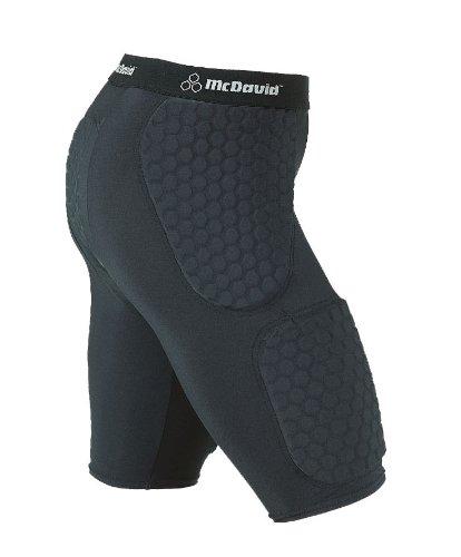 TALLA L. Mcdavid 757 THUDD - Pantalones Cortos con HexPad para Balonmano o Baloncesto