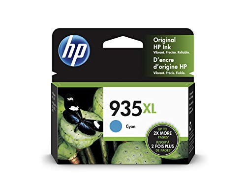 HP 935XL | Ink Cartridge | Cyan | C2P24AN (Hp Printer Cartridge 935)