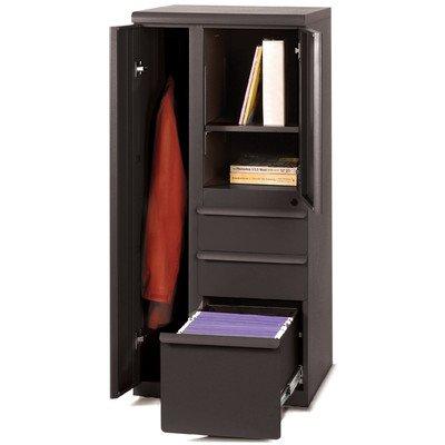 Ensemble 1 Door Storage Cabinet Finish: Dark Neutral