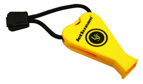 UST JetScream Floating Whistle, 122dB, Yellow Marine by UST