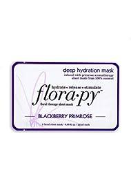 Florapy Beauty Deep Hydration Sheet Aromatherapy Mask, Blackberry Primrose