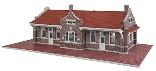 Walthers Cornerstone Brick Mission Style Depot Train ()