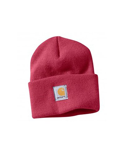 - Carhartt Womens Acrylic Watch Cap - Crab Apple WA018 Womens Ski Hat Winter Hat