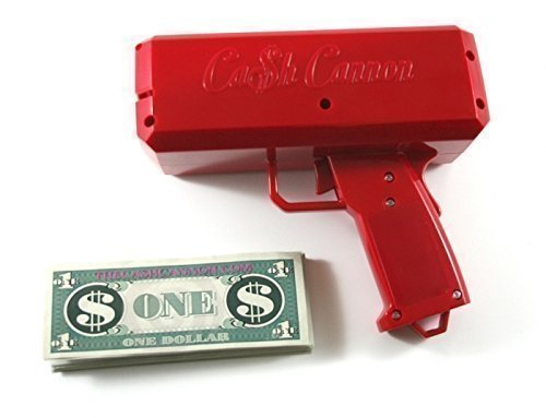 Price comparison product image The Cash Cannon Money Gun - Red