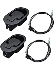 """Oflywe 2PCS Recliner Replacement Parts Sofa Chair Recliner Release Pull Handle Exposed Cable Length 4.7"""" W/Spring Universal Release Lever Handle for Couch Recliner Chairs Sofa"""