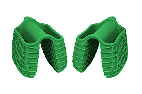 (Kitchen Collection Silicone Pinch Mitts Grabbers - Set of 2)