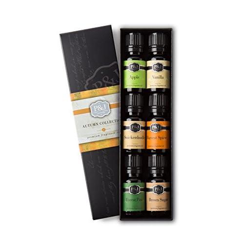 Autumn Set of 6 Premium Grade Fragrance Oils - Bro big image