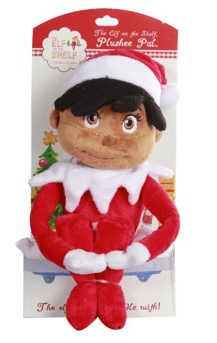 The Elf on the shelf Girl Plushee Pal - Dark