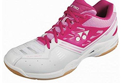 YONEX LX Womens Badminton Shoe bright pink