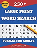 Large Print Word Search Puzzles for Adults: Word