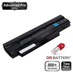 Dr Battery Advanced Pro Series batería de repuesto para portátiles Toshiba PA3821U-1BRS (4400 mah) 800 ciclos de recarga 2 año de garantía.