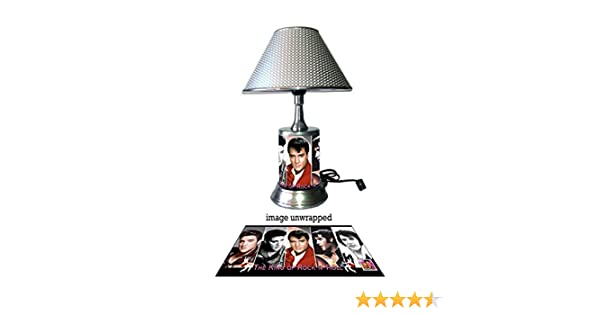 Elvis Presley Lamp with chrome shade, collage - - Amazon.com