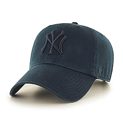 cdaf54ce5e3 Buy 47 Brand New York Yankees Clean Up Dad Hat Cap NAVY Tonal QS Quick  Stike Online at Low Prices in India - Amazon.in
