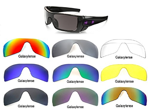 Galaxy Replacement Lenses For Oakley Batwolf Polarized Multiple-Option Available (Yellow Night Vision, - Lenses Replacement Batwolf