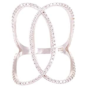 Roberto Bottega Women's Silver 925 Ring - Size 7 US