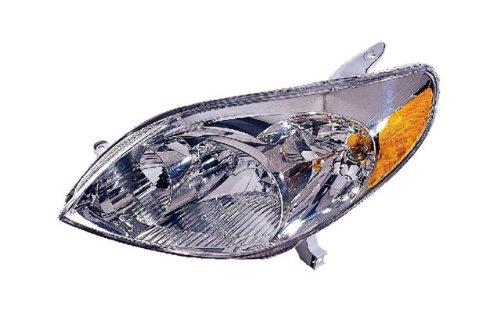 Toyota Matrix Replacement Headlight Assembly - 1-Pair Toyota Matrix Headlight Headlight