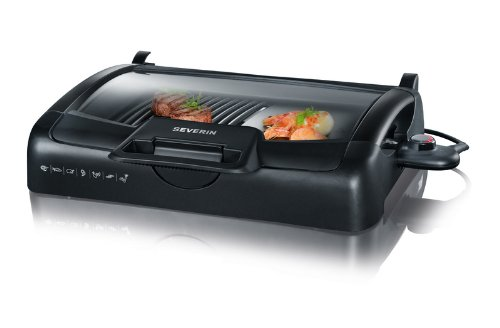 Severin Elektrogrill Mit Haube : Amazon severin pg barbecue grill mit glasdeckel