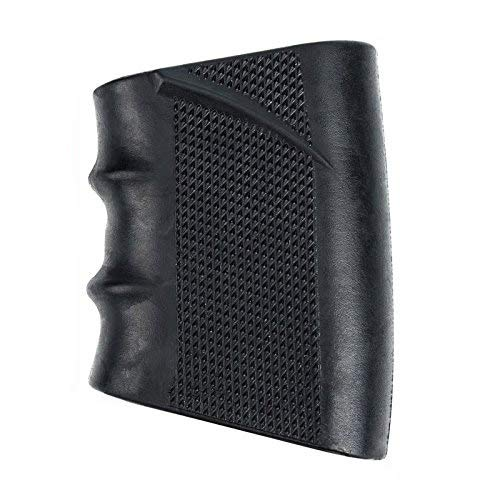BOOSTEADY Black Tactical Silicone Rubber Glove Sleeve Slip On for AR15, Glock, S&W, Sigma, SIG Sauer, Ruger, Colt, Beretta Models and More