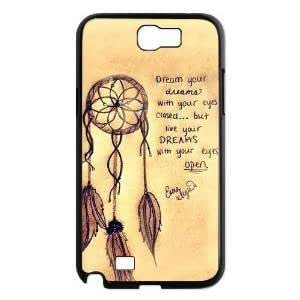 Note 2 Case,LYYF New Fashion and High Quality the Dream Catcher Hard Case/cover for Samsung Galaxy Note 23