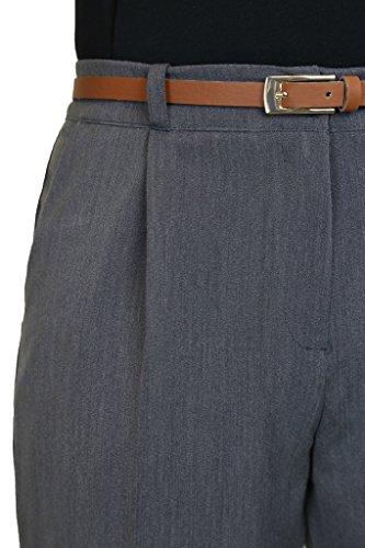 Conexión Gris Ice Desde Y 50 Cinturón Día Office Pantalones 36 Tamaño 1539 qqwUOxZA