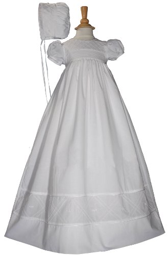 Heirloom 34'' Christening Baptism Gown- Size 12 Months by Little Things Mean A Lot