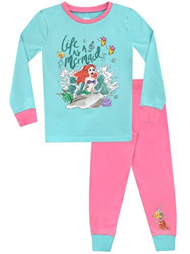 Disney Girls' The Little Mermaid Pajamas Size 3T Multicolored
