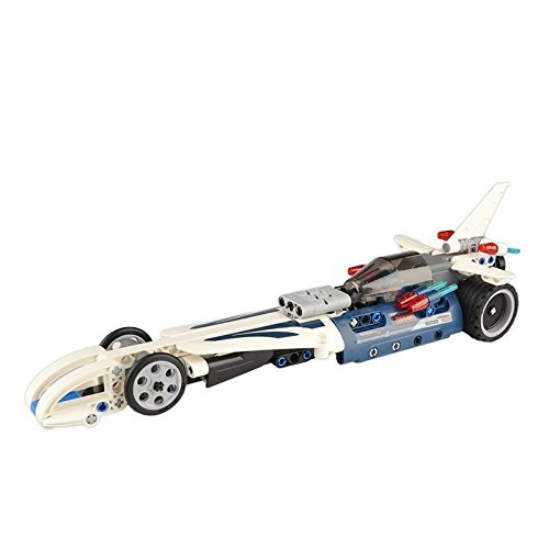 SZJJX Pull Racing Building Blocks