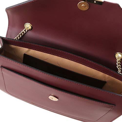 chaîne Main à Bordeaux bandoulière Tuscany Cuir à et Bordeaux en iRide Leather Sac xIqwq7Ov