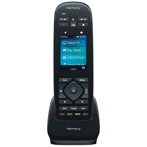Logitech Harmony Ultimate One 15-Device Universal Infrared Remote with Customizable Touch Screen Control - Black 2-Pack