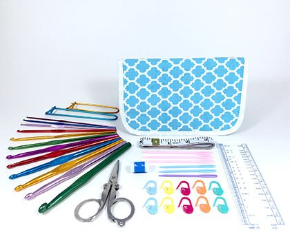 TenderHeart Shop Ultimate Crochet Kit, Blue by TenderHeart Shop