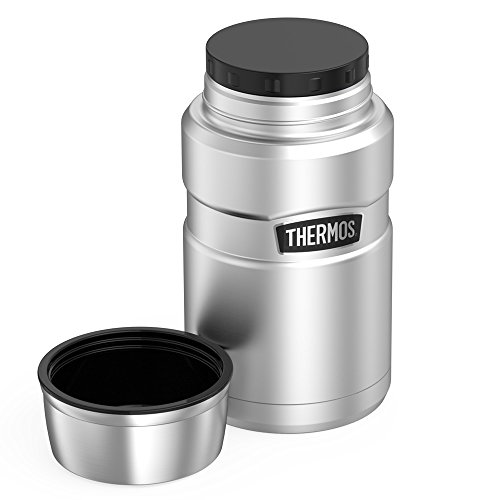 Thermos Stainless King 24 Ounce Food Jar, Stainless Steel ...