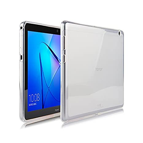 taglia 40 c394c 7614c WiTa-Store TPU Soft Cover per Huawei MediaPad T3 10 9,6 Pollici Custodia in  Silicone Cover Case Etui